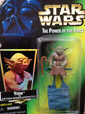 Star Wars Yoda Action Figure with Jedi Training - Gimmer Stick 1997 Kenner