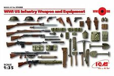 ICM 35688 1/35 WWI US Infantry Weapon and Equipment