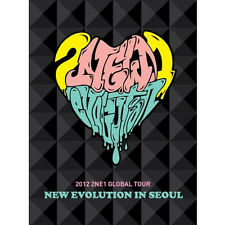 2NE1 - [NEW EVOLUTION IN SEOUL] 2012 GLOBAL TOUR LIVE DVD(2DISC+Booklet K-POP)
