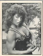 Women's Physique Publication Female Bodybuilding Doughdee Marie 2-85