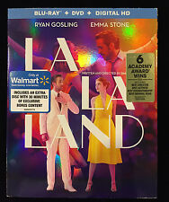 La La Land - Exclusive (Blu-ray + DVD + Digital HD; 2017) NEW with Slipcover