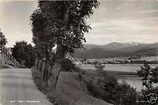 VOSS HORDALAND NORWAY NORGE STRANDPARTI GATEVISNING PHOTO POSTCARD 1940s