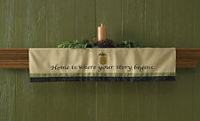 Home is where your story begins Countrypolitan Mantle Scarf