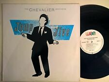 DISCO LP THE CHEVALIER BROTHERS - JUMO AND JIVE - 1987 WEA GERMANY 254769-1 NM