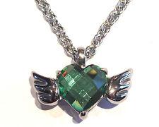 Ange cristal ailes urne collier pendentif-crémation bijou cendre souvenir