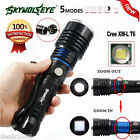 6000LM 5 Modes Zoomable CREE XM-L T6 LED 18650 Battery Flashlight Focus Lamp Lot