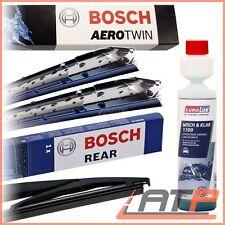BOSCH AEROTWIN SCHEIBENWISCHER +HECKWISCHER +SCHEIBEN-REINIGER AUDI A4 8E B6 B7
