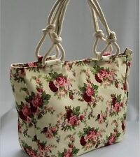 Hot sales!!! red flowers shopping bag shoulder bag women handbag purse сумки