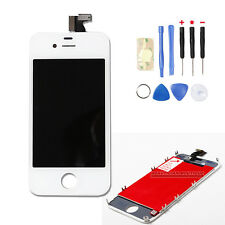 Replacement For Apple iPhone 4 Complete LCD Touch Screen & Digitizer in White UK