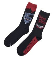 Tokyo Ghoul Bloody Anime Officially Licensed 2 Pack Crew Socks