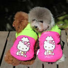 Kitty Dog Clothes Pet Coat Jacket Winter Warm Puppy Cat Apparel Hoodies XS S M L