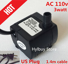 Ac 110v 200L/H small Submersible Water Pump for Fountain Fish Aquarium