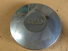 AUDI 50 100 MK1 CHROME STEEL WHEEL HUB CENTRE CAP COVER