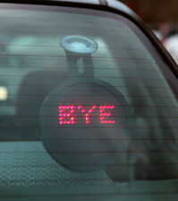 Drivemocion Remote Controlled Messages and Faces Led Car Sign