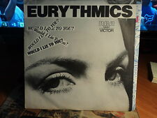 """Eurythmics """"Would I Lie To You?"""" Classic Hit"""" Oz PS 7"""""""