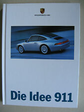 Hardback brochure Porsche 911 993 II Carrera S 4 4S Targa Turbo MY 1997 german