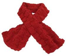 Thread Through Scarf Knitting Pattern Instructions by Knitwitzuk