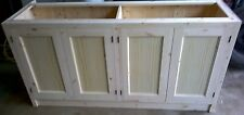 Hand Made Free standing Pine Kitchen Units  - Bespoke Made To Measure Available