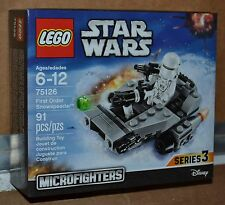 LEGO 75126 STAR WARS FIRST ORDER SNOWSPEEDER MicroFighters 91 Pcs NEW IN BOX
