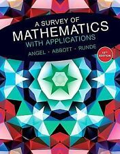 A Survey of Mathematics with Applications (10th Edition)