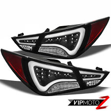 {DIAMOND BLACK} LED Tail Light L+R Brake Lamp 2011-2013 Sonata GLS/LIMITED/SE