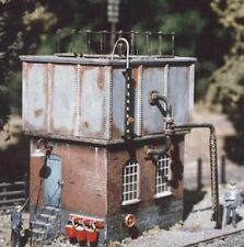 Ratio 506 Square Water Tower & Accessories 1/76th Scale = '00' Gauge Plastic T48