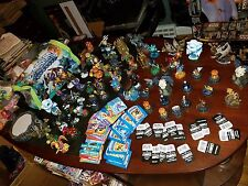 SKYLANDER HUGE LOT FIGURES, Giants, Small Etc, video game bag cards more