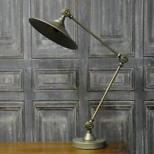 52cm Vintage Style Industrial Chic Matt Metal Table Adjustable Desk Lamp Light