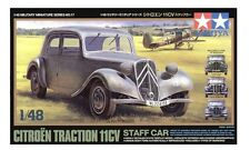 Tamiya 32517 1/48 Model Kit French/German Citroen Traction Avant 11CV Staff Car