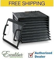 Excalibur 9-Tray Dehydrator the Timer series 3926TCDB, Free Shipping