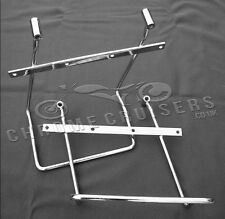 Honda VTX1800 Retro Chrome Saddlebag pannier support brackets bars kit