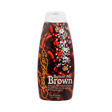 Ed Hardy Butter Me Brown Tanning DHA & Streak Free Bronzing Cream Lotion 10 Oz