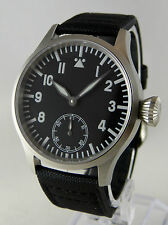 Mechanical B-uhr FLIEGER SAPPHIRE SUPERLUMINOVA pilot watch type Unitas 6498 FR