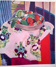 HENRI MATISSE,NATURE MORTE AUX HUITRES,OFFSET LITHOGRAPH.1958,PLATE-SIGNED