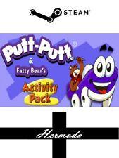 Putt-putt ® et gras bear's activity pack clé steam-pour pc, mac ou linux