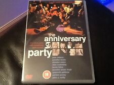 The Anniversary Party  DVD Alan Cumming, Jennifer Jason Leigh, Phoebe Cates,