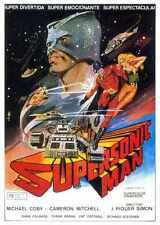 Supersonic Man Poster 01 Metal Sign A4 12x8 Aluminium