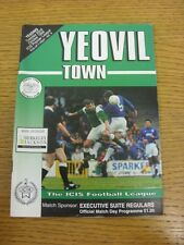 22/10/1996 Yeovil Town v Yeading  . Footy Progs (aka bobfrankandelvis) are pleas