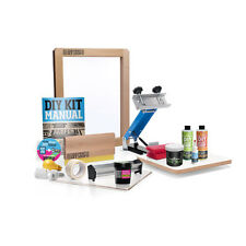 Screen Printing Starter Kit, Great Way To Start DIY Silk Screening