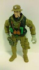 """Chap Mei 4"""" Military Action Figure Desert Camo Suit and Hat Silver Gun EUC"""