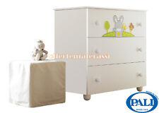 Como Pali Smart Bosco in legno 3 cassetti infanzia arredamento cameretta