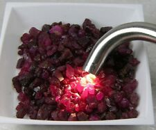 159.00ct Burm 100% Natural Untreated Raw Rough RED Ruby Crystal Lot 31.80g