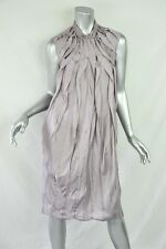 NINA RICCI Womens Lavender Purple Silk Sleeveless Knee-Length Shift Dress 36/4