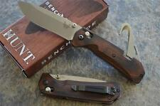 Benchmade HUNT 15060-2 Grizzly Creek Folder w/ Gut Hook & Dymondwood Handle