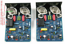 Assembled QUAD405 CLONE Amplifier Board with MJ15024 +Angle aluminum (2 channel)