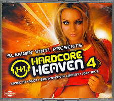 HARDCORE HEAVEN 4 - SCOTT BROWN/KEVIN ENERGY/JOEY RIOT - 3xCD -AUSTRALIAN IMPORT