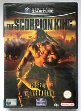 SCORPION KING RISE OF THE AKKADIAN GAMECUBE GAME Wii COMPATIBLE brand new RARE !