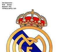 Real Madrid Logo XXL Wall Sticker - Decal Art Decor Football/Soccer Sports -$8