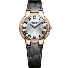 Raymond Weil Jasmine Gold Diamond Ladies Watch 5229-pcs-01659 - RRP £ 2095-Nuevo