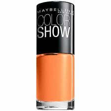 MAYBELLINE COLOR SHOW NAIL LACQUER #210 SWEET CLEMENTINE